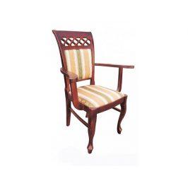 Jídelní židle s područkami 113