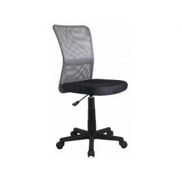 Dětská židle Dingo šedo-černá