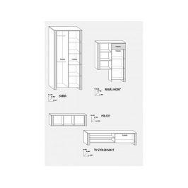 Obývací stěna Hugo 3