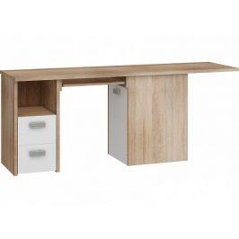 Rohový psací stůl Kitty 02