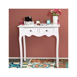 Toaletní stolek Floaring, bílá