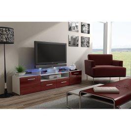 TV stolek Evora bílý