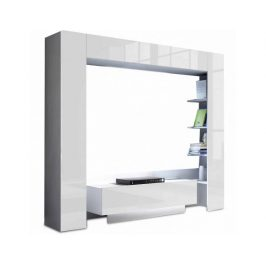 Obývací stěna Adornos, bílá