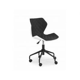 Dětská židle Matrix, bílo-černá