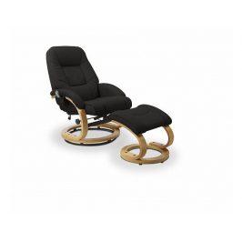 Relaxační křeslo Matador, černé Křesla