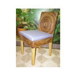 Ratanová židle MOON - konstrukce borovice