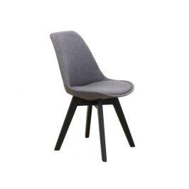 Židle Mamparas, tmavě šedá