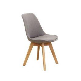 Židle Mamparas, šedohnědá