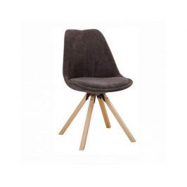 Židle Loger, šedohnědá