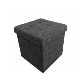 Taburet Aule, tmavě šedá