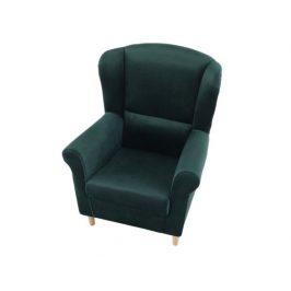 Křeslo Evier, látka smaragdová