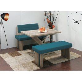 Rovná jídelní lavice s opěrkou Duo A
