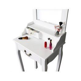 Toaletní stolek Cilingz, bílá