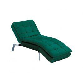 Relaxační křeslo Mantals, smaragdová