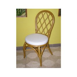 Ratanová jídelní židle HARLINGEN - světlá