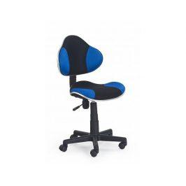 Dětská židle Flash černo-modrá