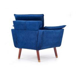 Komfortní křeslo REZZO, modré