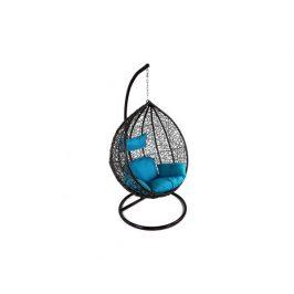 Závěsné relaxační křeslo TARA, modrý sedák