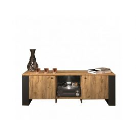 TV stolek WOOD 2D/140