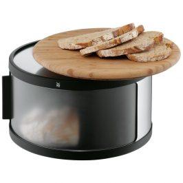 Chlebník s prkénkem z bambusu WMF Cromargan®