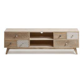 TV stolek z mangového dřevo La Forma Hood