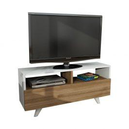TV stolek v dekoru ořechového dřeva Novella