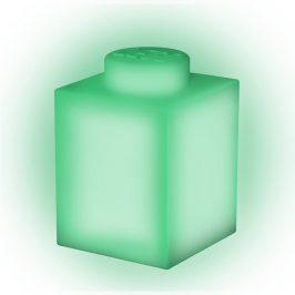 Zelené silikonové noční světýlko LEGO® Classic Brick