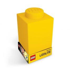 Žluté silikonové noční světýlko LEGO® Classic Brick