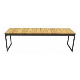 Zahradní lavice s deskou z akáciového dřeva Ezeis Brick
