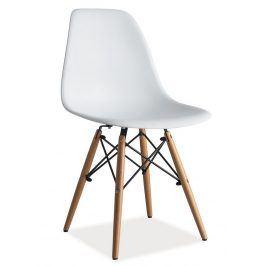 Jídelní židle ENZO, bílá