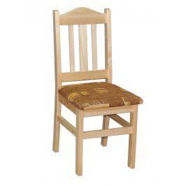 Židle čalouněná nr.2, masiv borovice, moření: ... Židle do kuchyně