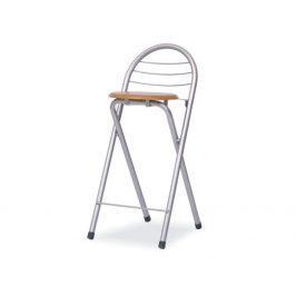 BOXER DR-414 BAROVA ZIDLE BUK/ALUMINIUM Židle do kuchyně