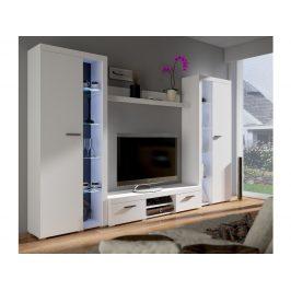 Obývací stěna RUMBA XL, bílá