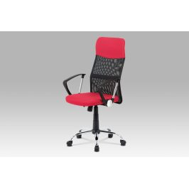 Kancelářská židle KA-V204 RED, červená/černá Kancelářská křesla