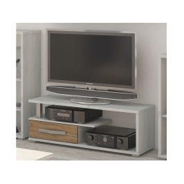 ANGEL ANG-12 TV stolek 1D, craft bílý/craft zlatý Stolky pod TV