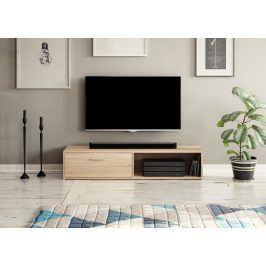 Televizní stolek SIMPLE, dub sonoma