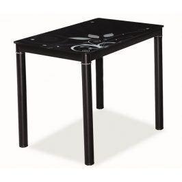 Jídelní stůl DAMAR 80x60, černý