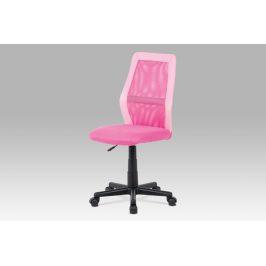 Kancelářská židle KA-V101 PINK, růžová