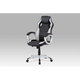 Kancelářská židle KA-V507 GREY, šedá/černá