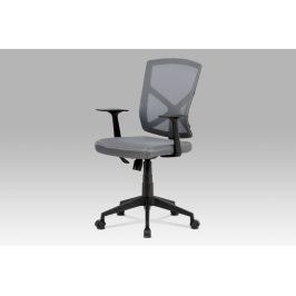 Kancelářská židle KA-H102 GREY, šedá