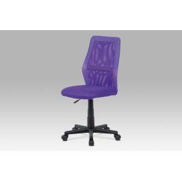 Kancelářská židle KA-V101 PUR, fialová Kancelářská křesla