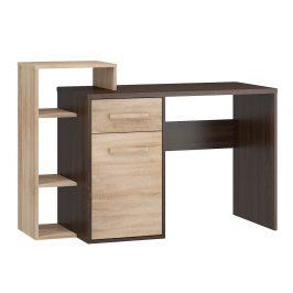 Psací stůl L RIO 03, dub sonoma tmavý/dub sonoma