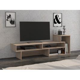 TV stolek OREGON P pravý, barva: