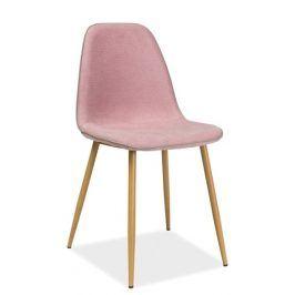 Jídelní židle DUAL, růžová