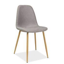 Jídelní židle DUAL, šedá Židle do kuchyně