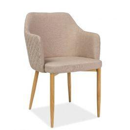 Jídelní čalouněná židle ASTOR, béžová