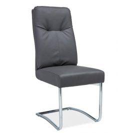 Čalouněná židle H-340, šedá Židle do kuchyně