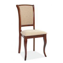 Jídelní čalouněná židle MN-SC, antická třešeň/T01 Židle do kuchyně