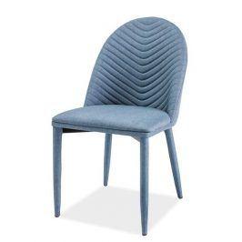 Jídelní čalouněná židle LUCIL, denim Židle do kuchyně