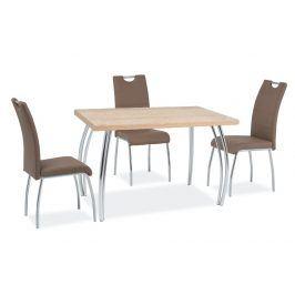 Jídelní stůl SK-2 102x64, dub sonoma